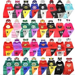 Other - One superhero cape and mask of your choice